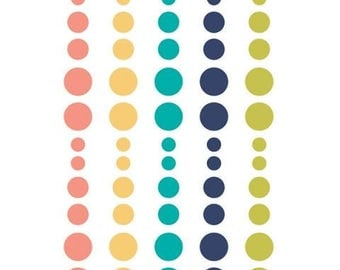 Simple Stories - Domestic Bliss Collection - Enamel Dots - 60 pieces - 7817