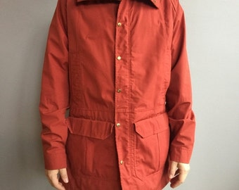 SALE Camp 7 Rust Colorway Jacket, Zipper front