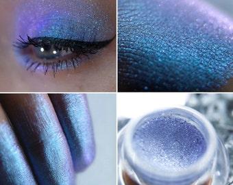 Eyeshadow: Ringing Bells' Spirit - Fairy. Translucent blue prismatic eyeshadow by SIGIL inspired.