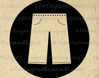 Jeans clipart – Etsy