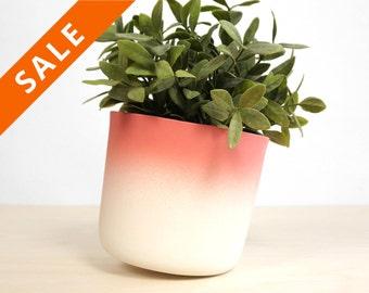 FlowerTop, Rotating planter, modern skew design pot for flower or plant - herbs pot for growing herbs - home garden- studio lorier