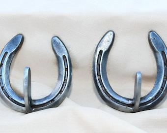 Horseshoe hooks and hangers - The Heritage Forge