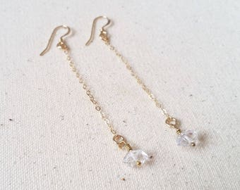 Herkimer Drop Earrings