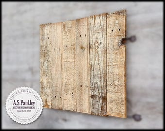 Rustic Blank Pallet, Distressed White Photo Background, Antiqued Rustic Wood Plaque, Food Photography, Photo Studio Surface, Etsy Photo Prop