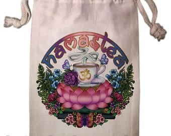 Namastea Tarot Bag -  Pagan Wiccan  - Brigid Ashwood