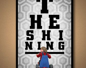 The Shining EYE CHART Poster