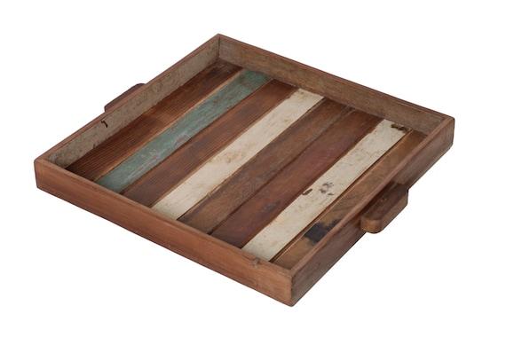 Items Similar To Reclaimed Wood Tv Tray On Etsy