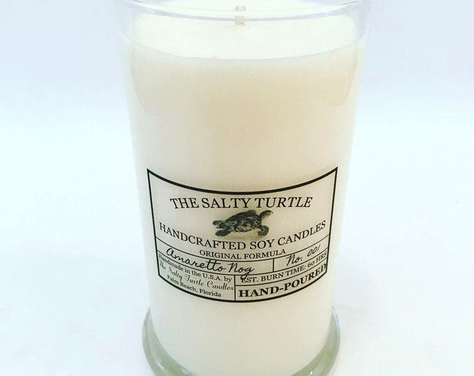 ORANGE BLOSSOM  - Handcrafted Salty Turtle Signature Soy Candle - 12, 16 or 21 ounce