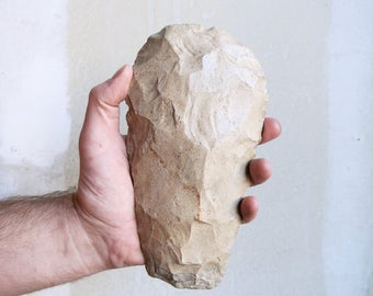 Amazing Neolithic Axe Head - Native American - Primitive Hunting Tool - Indian Artifact - Collectible Artifact - Native American Tool - OOAK