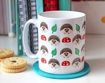 Hedgehog Mug, Hedgehog Cup, Hedgehog Gifts, Cute Mugs, Ceramic Mug