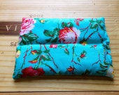Rice Heating Pad Heat Therapy Rice Bag Aromatherapy Neck Wrap Cold Pack  Rice Pack Lavender or Peppermint Floral Rose Print