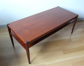 teak coffee table | etsy