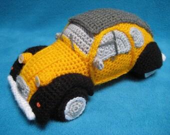 Amigurumi 2CV Inspired French Classic Car Crochet PATTERN PDF Dodoche