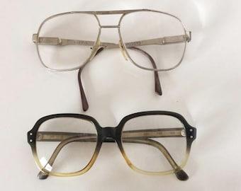 Vintage eyeglasses 80's - Retro eyeglasses