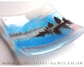 Misty Lake Dish