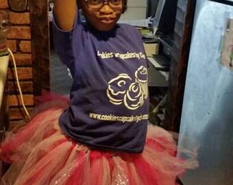 Simple tutu - tulle tutu -  dance - child's play - dressup costume - custom tutu dress - solid color tutu - pink tutu - color run tutu -