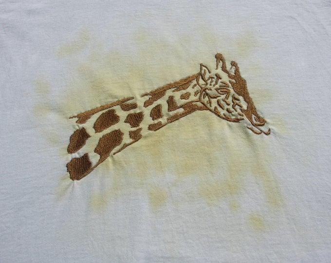 Childs' T-Shirt - 7 - 8 Years - Giraffe
