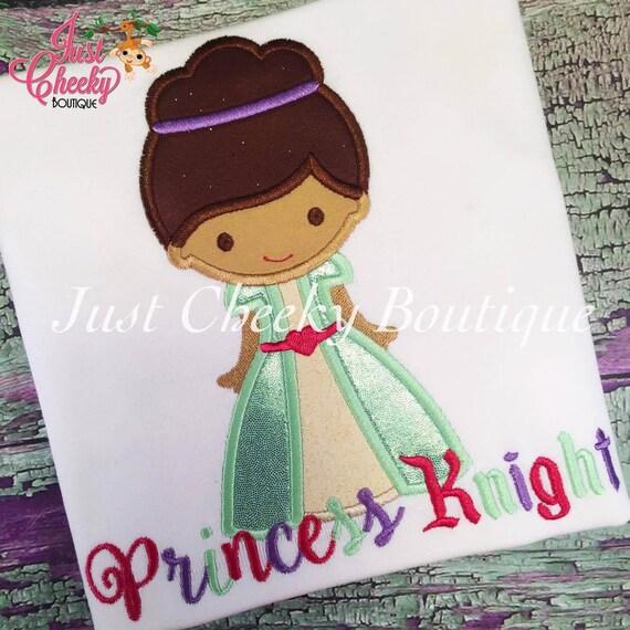 Nella the Princess Knight cutie embroidered shirt - Nella Birthday Shirt - Nella the Princess Knight Birthday Shirt -