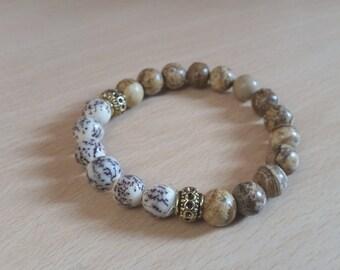 Mens Bracelet, Gift For Men Brother Boyfriend Husband Male Friend Man Him, Mens Gift, Mens Jewellery, Gemstone Bracelet