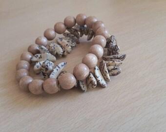 Mens Surfer Bracelet, Mens Gift, Gift For Brother Boyfriend Husband Him Men Male Friend, Wood Bracelets, Unisex Gift Jewellery