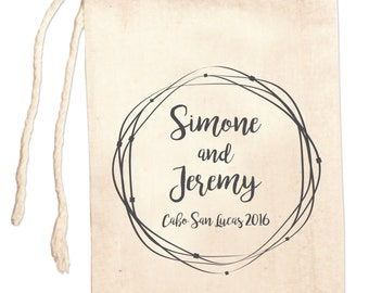 Wedding Favor Bags, Custom Wedding Favors, Personalized Wedding Favor Bags