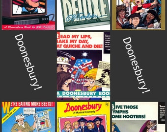 Doonesbury by Gary Trudeau deluxe paper editions