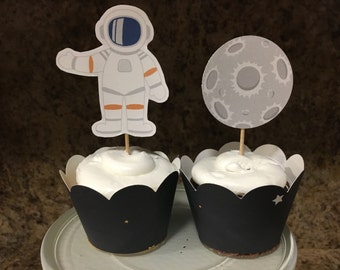 Space Cupcake Toppers