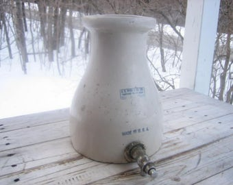 G. H. Wood stoneware soap dispenser (2 gal.)