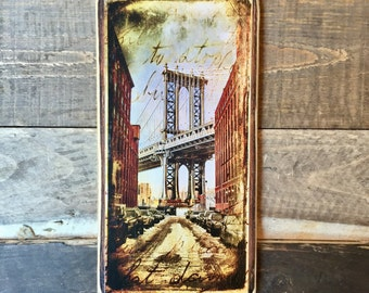 Manhattan Bridge - 10x20 inches