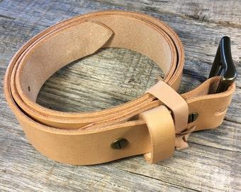 Hermann Oak Veg-Tanned Leather Belt