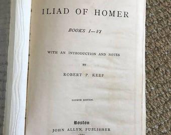 1887 Iliad by Homer