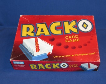 RACK-O 1997 PARKER BROTHERS Classic Card Game