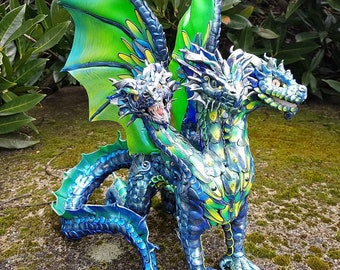 Hydra Dragon Sculpture