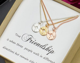 Best Friend Gift Sister Gift Best Friend Necklace Bracelet Friendship Necklace Bracelet Compass BFF sisters necklace Friendship Jewelry Gift