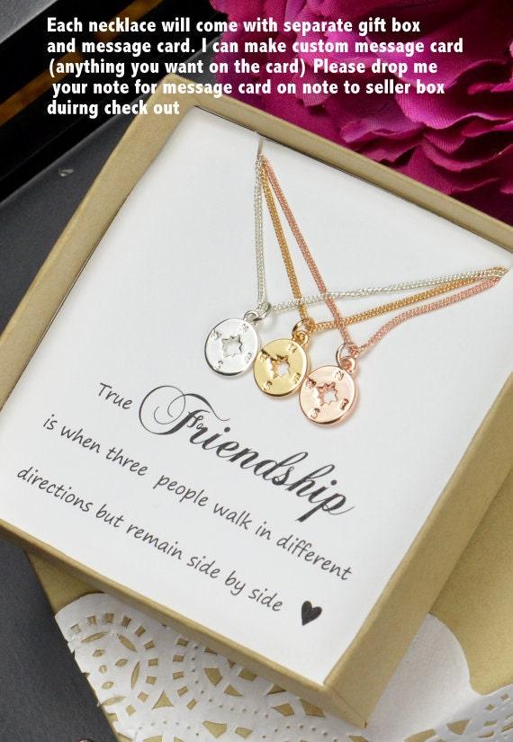 Best friend gift sister gift best friend necklace bracelet - Bff geschenke ...