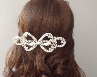 Bridal Hair Comb, Wedding Comb, Bridal Comb, Bridal Hair Accessory, Rhinestone Hair Comb