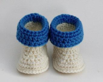 Crochet Pattern - Baby Booties - Baby Boots - Baby Slippers - Easy - Preemie, Newborn, 3 Month, 6 Month, 1 Year Meadowvale Studio 175