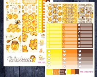 Busy Bee Kit for Erin Condren Life Planner