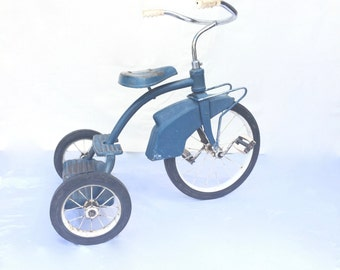 Vintage Tricycle Murray 1960's Turquoise