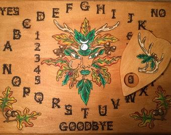 Greenman Spirit Board~Ouija