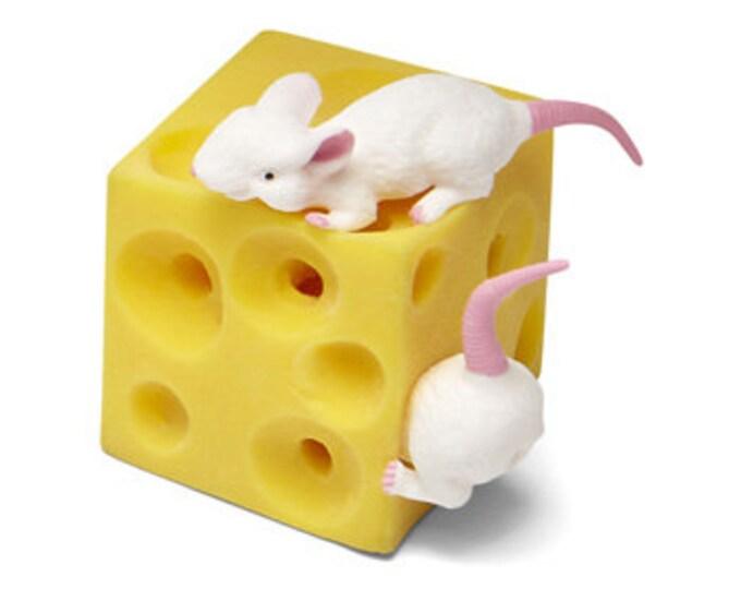 Stretch Mice and Cheese Fun