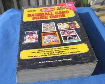 Sports Collectors Digest Baseball Card Price Guide 3rd Edition 1989