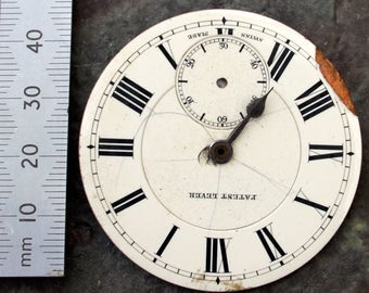 Vintage Pocket Watch Faces