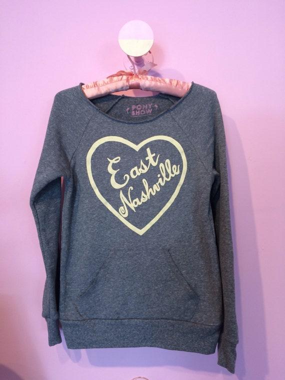 East Nashville cozy sweatshirt