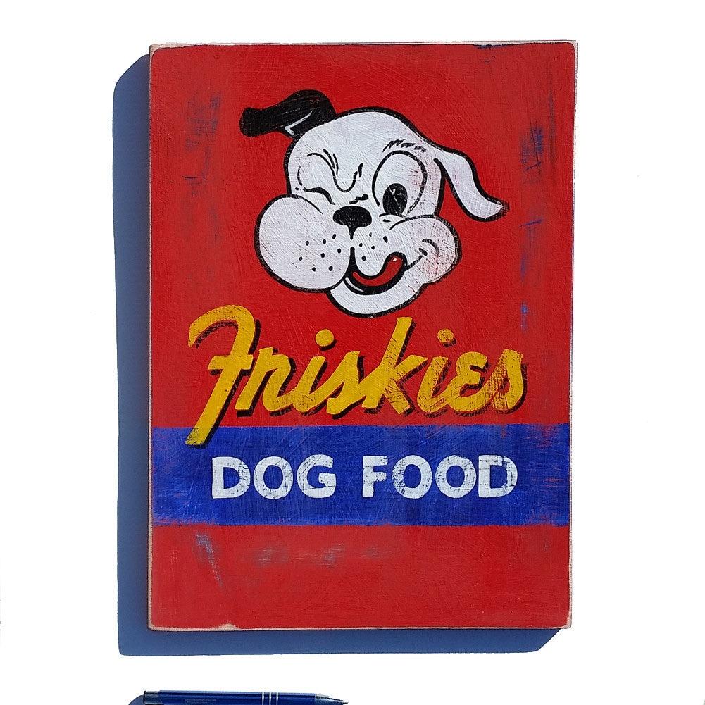 Friskies Dog Food Sign