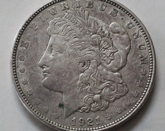 1921 d Morgan Silver Dollar - sku 3174b32