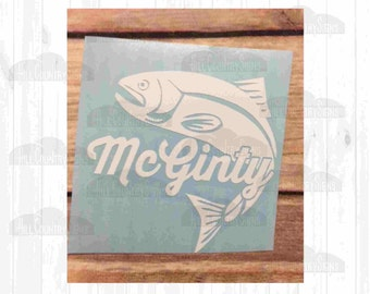 Flying Fish Decal