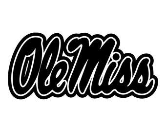 Mississippi Vinyl Sticker