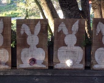 Bunny Butt Sign, Easter Bunny, Easter Sign, Nursery Decor, Baby Bunny, Wood Sign
