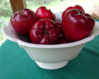 Wood Apples, Wood Red Apples, Red Delicious Wood Apples, Set of 8